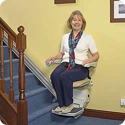 Minivator 950 Stairlift for Straight Stairs