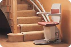 Stannah Sarum 260 Stairlift for Curved Stairs