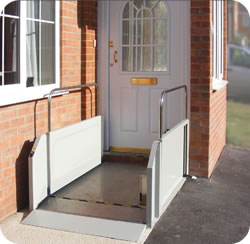 TSL 500 Domestic Steplift from Terry Group, Total Mobility Solutions, Ideal for Providing Easy Wheelchair Access
