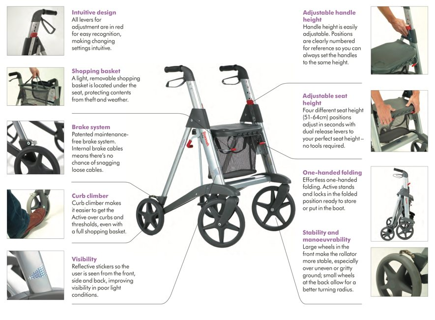 Incredible Stannah Active Rollator Dolphinliftskent Com Caraccident5 Cool Chair Designs And Ideas Caraccident5Info