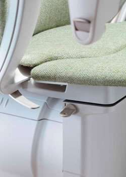 Stannah Starla stairlift swivel seat lever