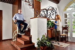 Platinum Curve stair lift