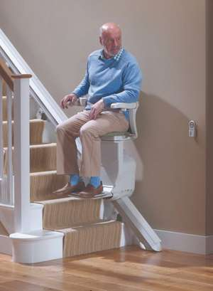 Stannah Starla straight stair lift