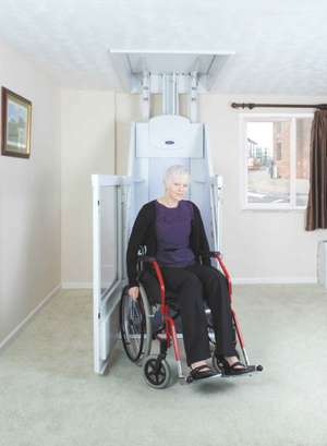 Wessex through-floor mobility wheelchair lift