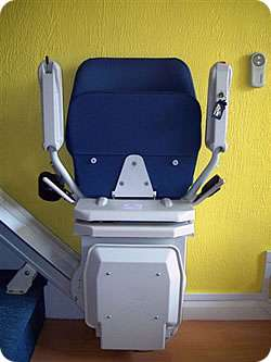 Reconditioned stairlifts for straight stairs