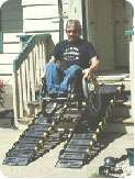 Roll-a-Ramp 12 inch pair mobility access ramp for wheelchair users