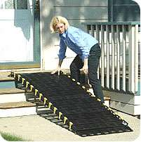 Roll-a-Ramp 30 inch Single mobility access ramp for wheelchair users