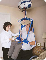 V4 Ceiling Track Lift mobility ceiling hoist from BHM Medical Inc.